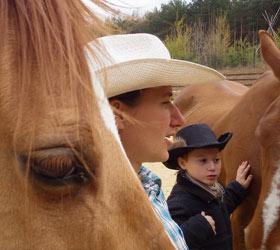 Zábava s koňmi